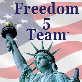 Freedom 5 Team, simple, proven home business anyone can succeed at with no selling or investment